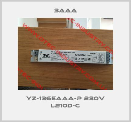 YZ-136EAAA-P 230V L210D-C -big