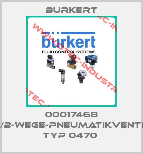 00017468 4/2-WEGE-PNEUMATIKVENTIL TYP 0470 -big