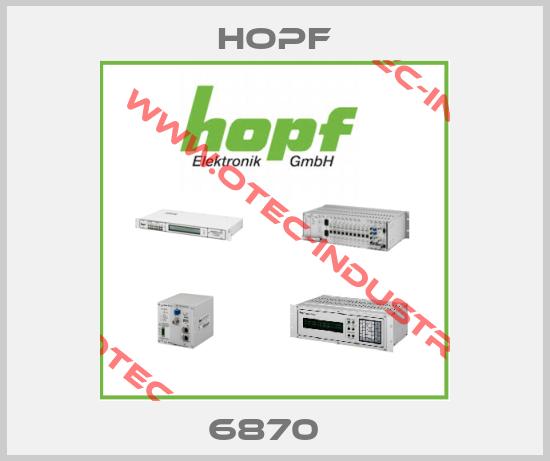 HOPF 6870 DRIVER UPDATE
