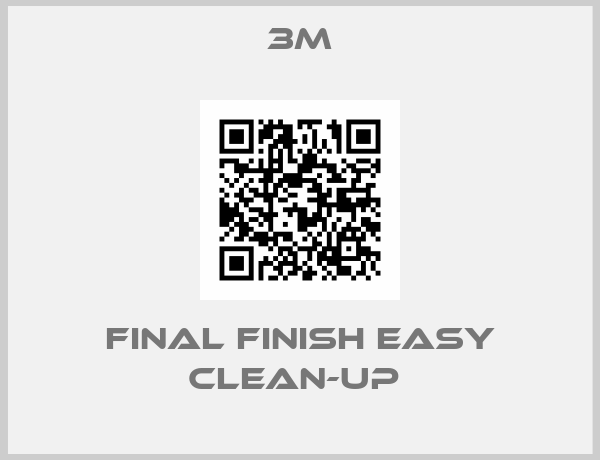FINAL FINISH EASY CLEAN-UP -big