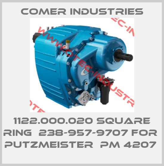 1122.000.020 SQUARE RING  238-957-9707 FOR  PUTZMEISTER  PM 4207 -big