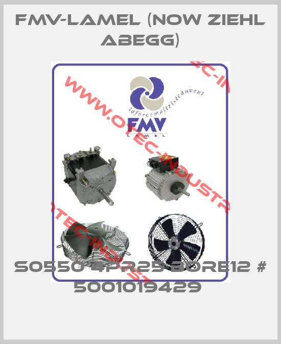 FMV-Lamel (now Ziehl Abegg)-S0550 4PR25 BORE12 # 5001019429