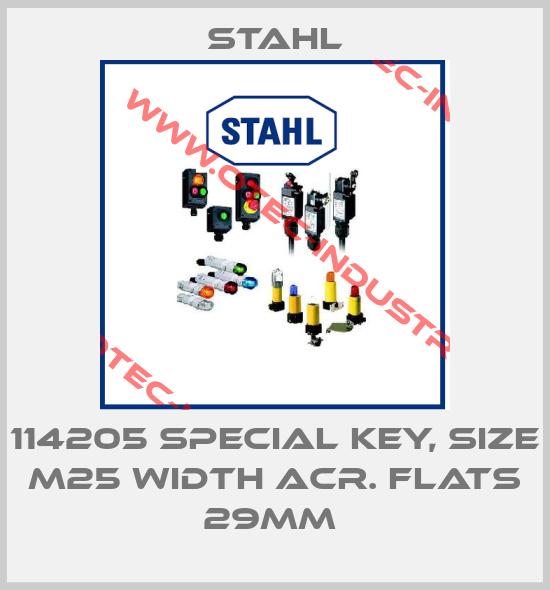 114205 SPECIAL KEY, SIZE M25 WIDTH ACR. FLATS 29MM -big
