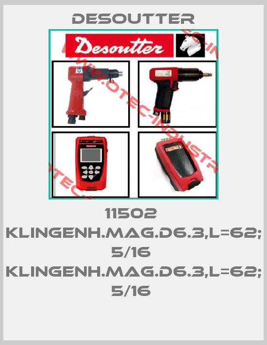 11502  KLINGENH.MAG.D6.3,L=62; 5/16  KLINGENH.MAG.D6.3,L=62; 5/16 -big