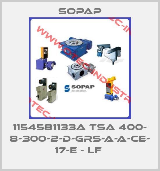 1154581133A TSa 400- 8-300-2-D-GRS-A-A-CE- 17-E - LF -big