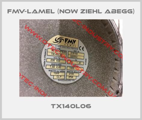 FMV-Lamel (now Ziehl Abegg)-A0762 4PB35 TX140L06