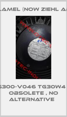 FMV-Lamel (now Ziehl Abegg)-S300-V046 TG30W4 - obsolete , no alternative
