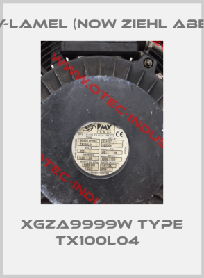 XGZA9999W Type TX100L04  -big