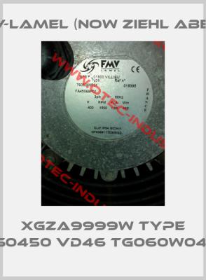 XGZA9999W Type S0450 VD46 TG060W04 -big