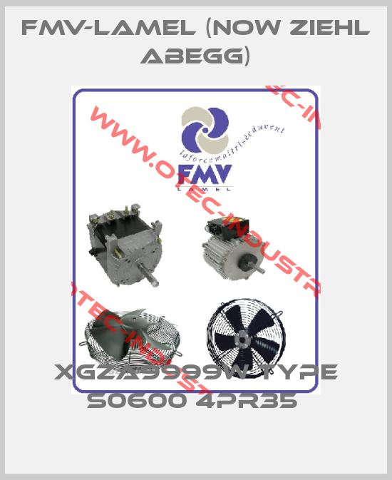 XGZA9999W Type S0600 4PR35 -big