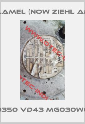 FMV-Lamel (now Ziehl Abegg)-5001018322 Type S0350 VD43 MG030W04