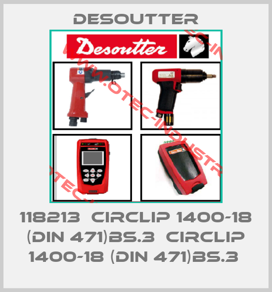 118213  CIRCLIP 1400-18 (DIN 471)BS.3  CIRCLIP 1400-18 (DIN 471)BS.3 -big
