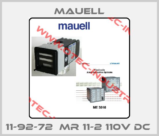 11-92-72  MR 11-2 110V DC -big