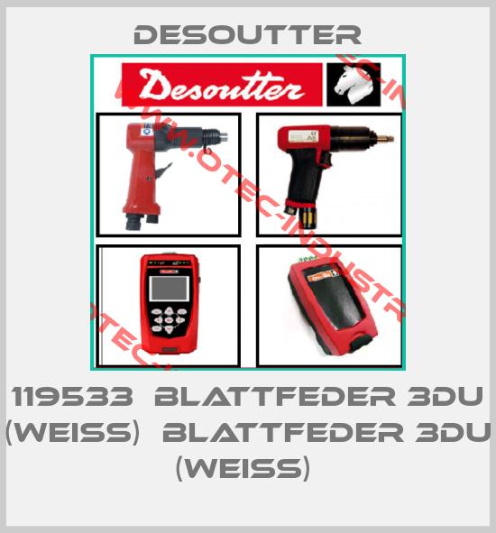 119533  BLATTFEDER 3DU (WEISS)  BLATTFEDER 3DU (WEISS) -big